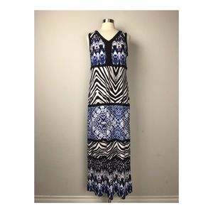 Chico's Women's Royal Patterned Dress